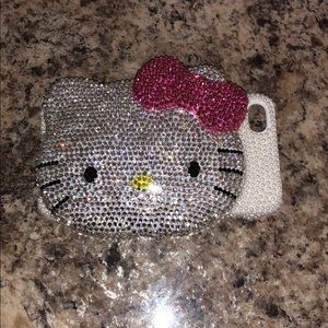 Hello Kitty bling iPhone 4 case